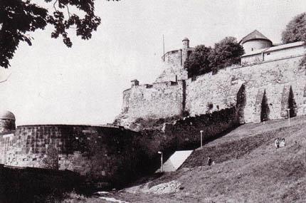 Figyelőtornyok az esztergomi várban